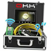 Sewer Camera, 30m Wireless Wifi Pipe Inspection Camera For Android/ios Drain