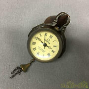 Used Omega Crystal Ball Pocket Watch Automatic Small Scratches On The Glass