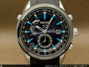 Seiko Astron Sbxa009 Date Box World Time Gps Solar Mens Watch Authentic Working