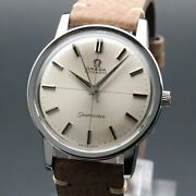 Omega Seamaster Vintage Overhaul Cal.552 Automatic Mens Watch Authentic Working