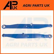 Lower Link Lift Arm Linkage Lh And Rh Kit For Ford 3500 4600 4610 Tractor