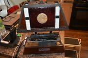 Lionel Animated Hudson 700e Locomotive Table Lamp Light Motion And Sound- Works