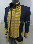 Napoleonic Revolutionary War Military Officer Naval Captain Frock Coat And Vest