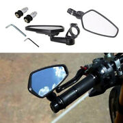 2pcs Aluminum Motocycle Side Rearview End Motorcycle Side Mirror For Atv