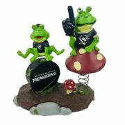 Rare Forever Collectibles Pittsburgh Penguins Resin Frog Team Collectible Nhl