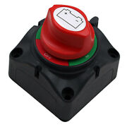 Dual Battery Selector Switch Shut 3 Speed For Marine Vehicles Boat 68x68mm