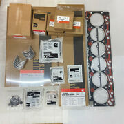 6bt Re-ring Kit W/ Rod And Main Bearings For Cummins 12v With .010 Head Gasket Kit