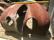 1938 Ford Fenders Front And Rear Set Of 4