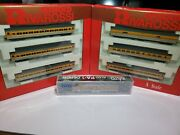 Drgw N Scale Kato Pa-1 Rivarossi 6 Passenger Car Set Lot With Mt Couplers