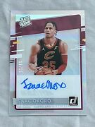 2020-21 Clearly Donruss Isaac Okoro Rated Rookie Holo Gold /10 Auto Cavaliers