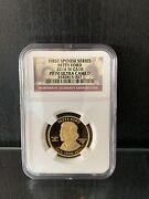 2016-w 10 Gold Spouse Betty Ford Ngc Pf70 Pr70 Rare Coin