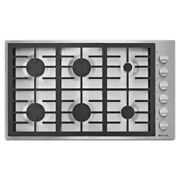 New Jenn-air Jgc7636bp 36 Pro-style Gas Cooktop Stainless Steel