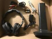 Sony Wireless Headphones Wh-rf400r + Two Batteries + Tmrrf400 Stand + Cords