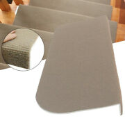 13pcs Stair Tread Carpet Mats Step Non-slip Staircase Protection Cover Pads Home
