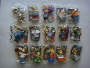 Burger King The Simpsons Movie Toys Lot Of 15
