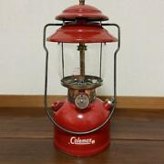 Coleman 200a 1964 Vintage Camping Lantern Red [operation Confirmed]