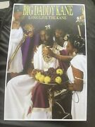 Big Daddy Kane Signed 11x17 Poster Photo Long Live The Kane A Must