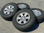 Set Of 4 Used Oem Factory Takeoff Gmc Canyon 16 Tires And Wheels 22901339