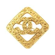 Coco Mark Brooch Gp Gold 94a From Japan Shippingfree Collection Authentic