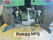 New Ruegg 3 Point Hitch Kit Fits John Deere 140, 300, 317 Made In Usa