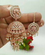 Indian High Quality New Style Mangtika Earing Party Wear Fashion Jewelry Jl 359