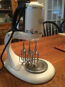 Vintage 1940andrsquos Ge General Electric Triple 3 Beater Stand Mixer