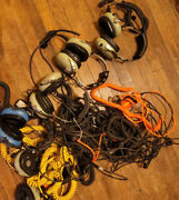 David Clark Aviation Headset W/microphone - 5 Sets With Extension Cords