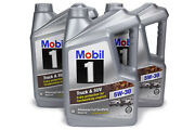 Mobil 1 Motor Oil - Truck And Suv - 5w30 - Synthetic - 5 Qt - Set Of 3 124600