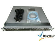Arista Dcs-7050s-64-f 48xsfp+ And 4xqsfp+ Switch Front-to-rear Air Dual 460w Ac