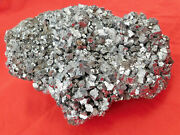 A Huge Galena Crystal Cube Cluster From Peru 4804gr