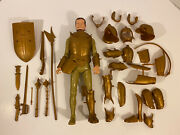 Sir Gordon Gold Knight Noble Knight Series Marx 1968 Damaged Not Complete
