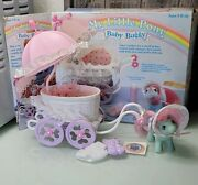 My Little Pony Baby Buggy And Baby Cuddles With Original Box
