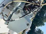 Rare Volvo Penta 280 Power Trim Complete Transom Assembly With Pump 850924andnbsp