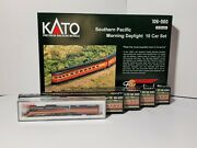New Kato N Scale Southern Pacific Morning Daylight Set Gs-4 Locomotive And 18 Cars