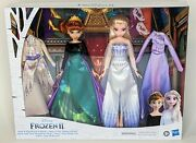 Disneyand039s Frozen 2 Anna And Elsa Royal Fashion Clothes Dolls And Accessories New