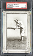 1907-09 Novelty Cutlery Ed Walsh Hof Rppc Psa 5 Rare Only 2 Graded Total