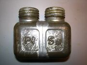Wwii Era Poland Square Oil Dual Cell Rifle Cleaning Oiler Bottle 7.62x39 Mosin