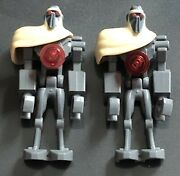 Lot Of 2 Lego Star Wars Magna Guard Minifigures From Sets 7752 7673