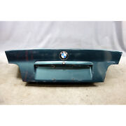 1992-1999 Bmw E36 3-series Coupe Rear Trunk Deck Boot Lid Ascot Green Used Oem