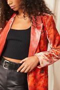 Free People Nwt Size Small Gorgeous Fall Velvet Jacket New