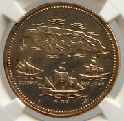 1972 Jamaica 10th Independence Anniversary Proof Gold 20 Dollars Coin Ngc I94022