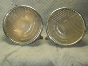 Pr Headlights 1929 Lincoln Or Adapt Ratrod Nice Condition Problem Solved
