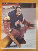 The Official 1973 Nhl Game Action Rogie Vachon No. 30 Los Angeles Kings Poster