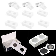 600 Pcs Coin Flips Coin Holder For Collector Collection Supplies 12 Sizes