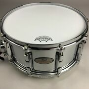 Used Pearl Rfs1465 Reference Steel Snare Drum 14 6.5 Inch With Soft Case