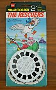 Sealed The Rescuers 1977 Viewmaster Reels Set Bh026 Rare Walt Disney  K870