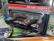 Hot Wheels Rlc 2020 -'69 Dodge Charger- Black- Open Hood 164 Real Riders