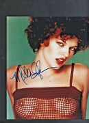 Vintage And Hot Milla Jovoich Personally Signed Publicity Photograph