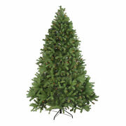Northlight 6.5and039 Noble Fir Full Artificial Christmas Tree Multi-color Lights