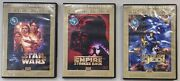 Dvds Star Wars Five Star Collections Complete Set Special Edition Rare Original